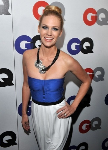 January Jones wallpaper possibly with a playsuit entitled January Jones