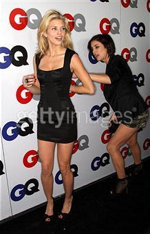 Jessica and Annalynne GQ event
