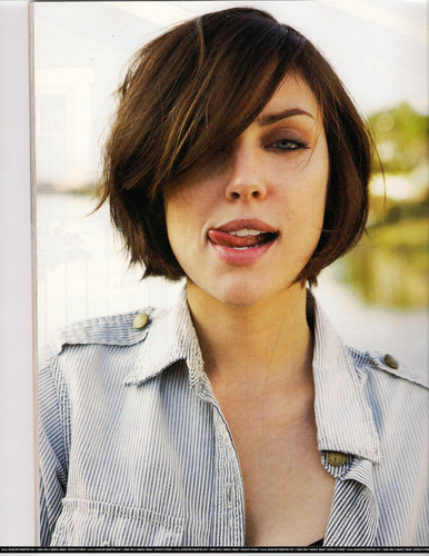 Jessica in Foam Magazine  (scans) wallpaper probably containing a headshot in The Jessica Stroup Club