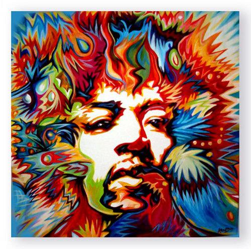 Jimi Hendrix - arc en ciel Haze