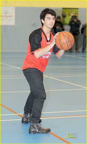 Joe visit the Special Olympics Sports Club in Dublin, Ireland. 23.11.09