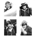 Justin's black-and-white photos!=) - justin-bieber photo
