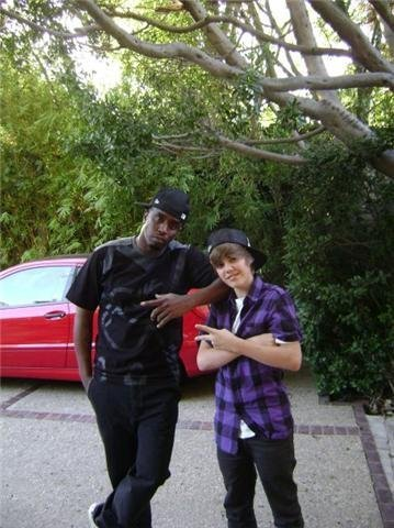 Justin with P.Diddy!