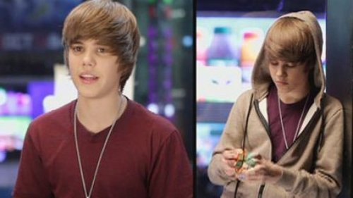 Justin with cube!=)