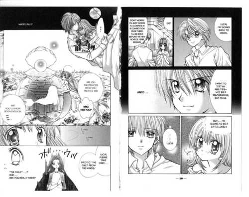 Mermaid Melody Hintergrund probably with a newspaper and Anime called Kaito x Luchia