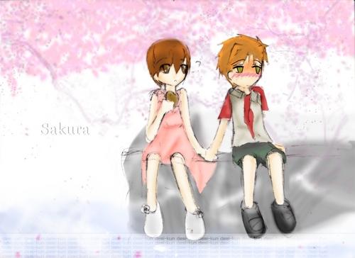 Kaoru and haruhi love
