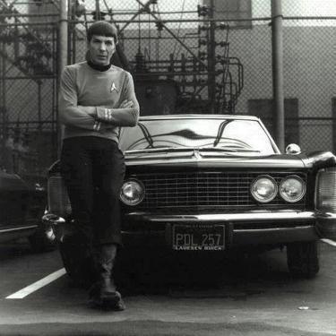 Leonard Nimoy aka Mr. Spock