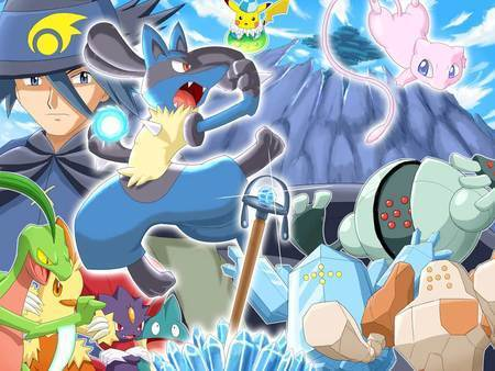 Lucario wallpaper probably with anime entitled Lucario...