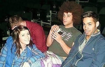 Lucie, Jamie & Danyl