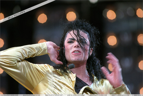 MJ Dangerous tour pics
