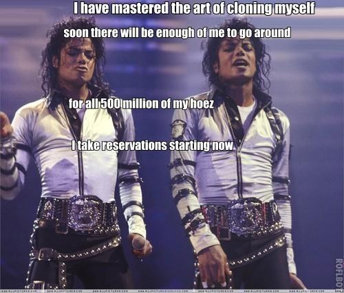 "MJ ""cloned"""