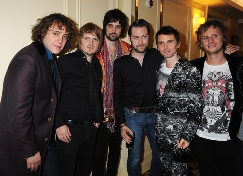 Matt, Dom and Kasabian - muse Photo