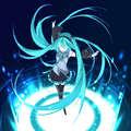 Miku Hatsune Twirl