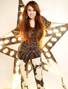 Miley Cyrus on Seventeen 2009