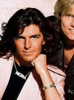 Modern Talking Hintergrund containing a portrait titled Modern Talking - Dieter & Thomas