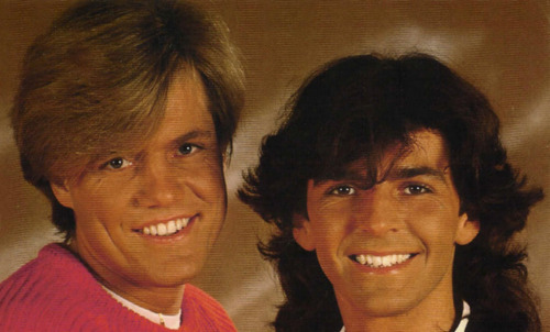 Modern Talking Hintergrund possibly containing a portrait titled Modern Talking - Dieter & Thomas
