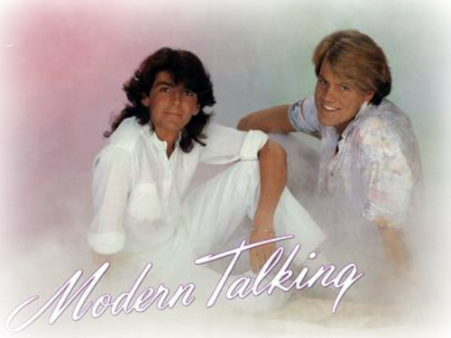 modern talking wallpaper possibly with a portrait titled Modern Talking
