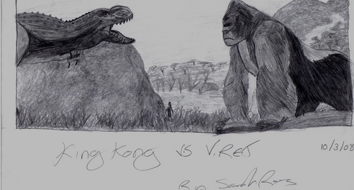 My King Kong Drawing