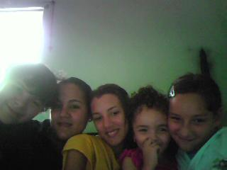 My cousins and I in PR