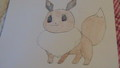 My drawing of eevee