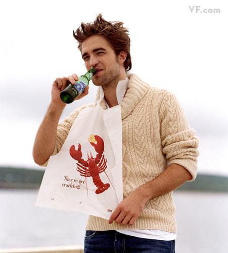 NEW Robert Pattinson Vanity Fair Outtakes