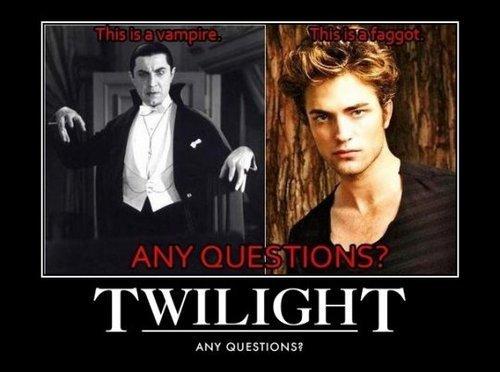 NOT a vampire.