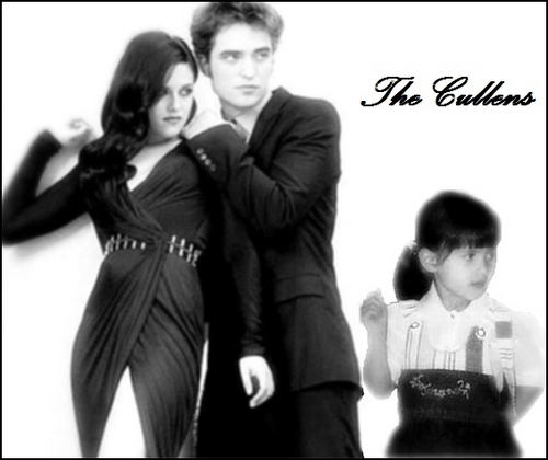 Renesmee Carlie Cullen wallpaper with a business suit and a well dressed person called Nessie, Edward and Bella
