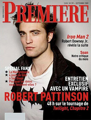New Moon Cast Mag Covers