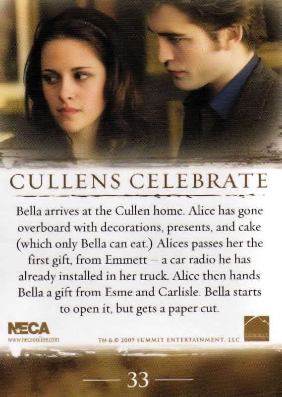 New Moon - Trading Cards [SPOILERS]
