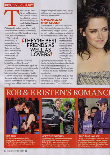 New moon Collectors edition of OK! magazine scans