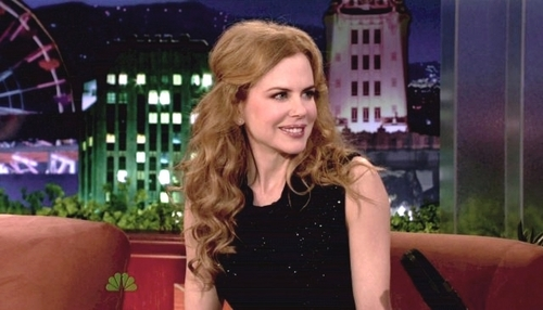 Nicole on Late Night with Conan O'Brian
