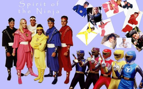 The Power Rangers wallpaper entitled Ninja Ranger Power