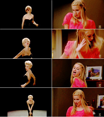 Quinn Fabray wallpaper entitled Papa don't preach