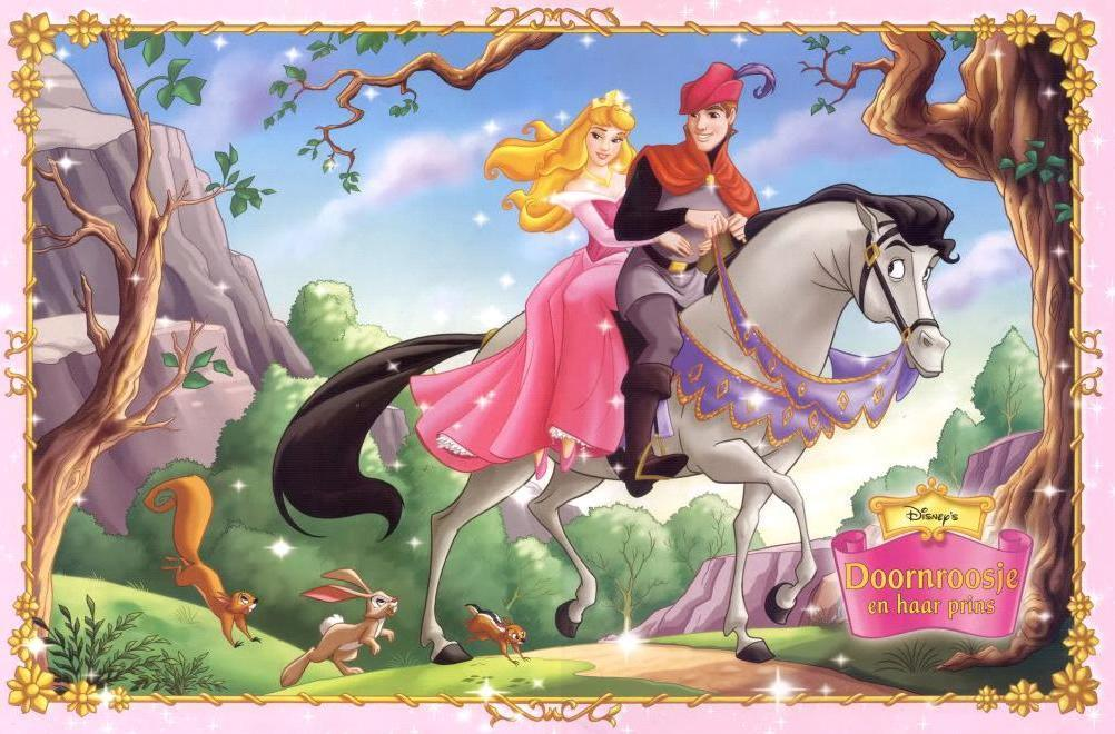 Princess Aurora and Prince Cartoons Disney