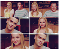 Puck-Quinn-Finn  - glee fan art