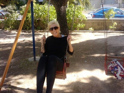 Greece's Next Top Model wallpaper containing a swing called Ramona
