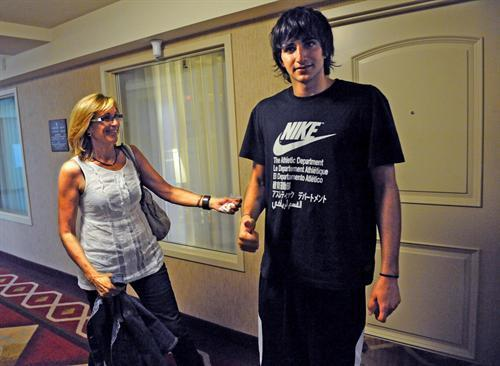 Ricky Rubio's mom - ricky-rubio Photo