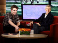 Rob on Ellen D. show and Kristen on Jimmy Fallon - twilight-series photo