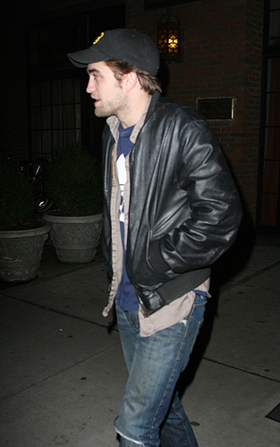 Rob out in NYC