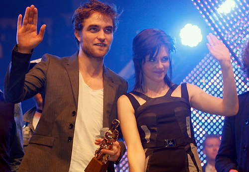 robert pattinson y kristen stewart