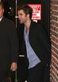 Robert Pattinson Leaving Letterman  - twilight-series photo