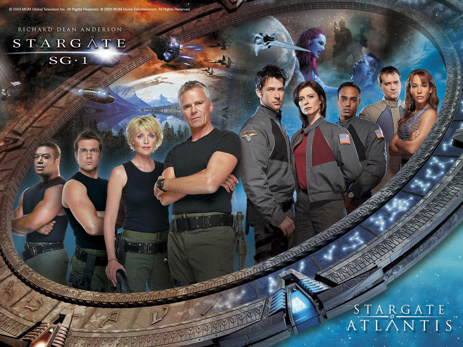 Stargate sg1 atlantis sg1 atlantis