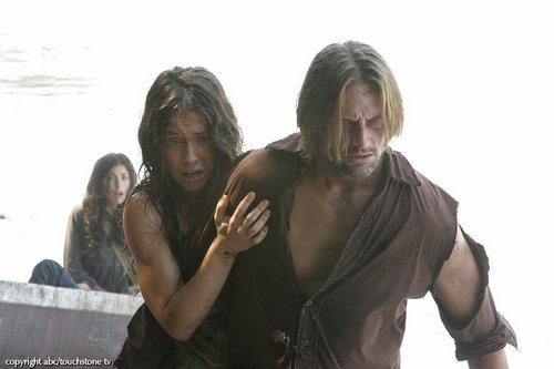 Sawyer and Kate HQ photos