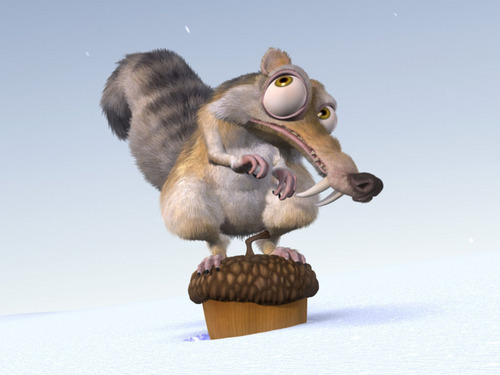 Ice Age wallpaper possibly containing a mouse entitled Scrat