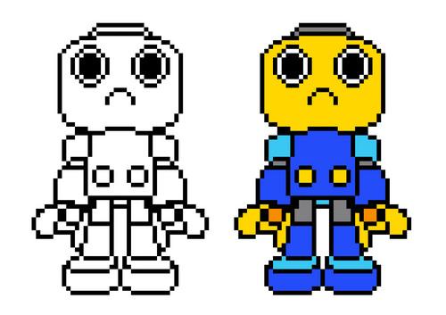 Servbot in pixel 01