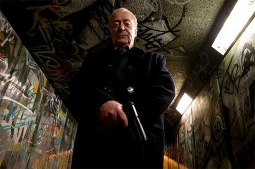 "Sir Michael Caine.In his latest film ""Harry Brown"" !"