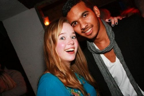 Skins inpakken, wrap party (20/11/09)