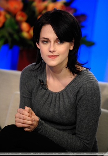 Stills from Kristen Stewart @ The Today toon