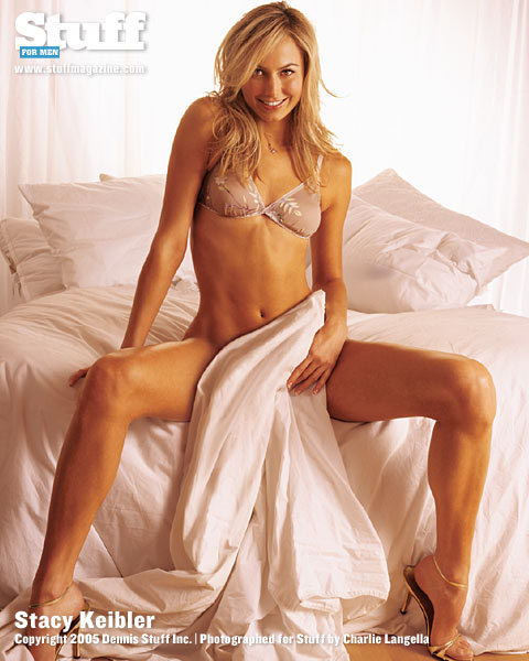 Stacy Keibler At Photoshot In Lingerie - Hot Girls Wallpaper