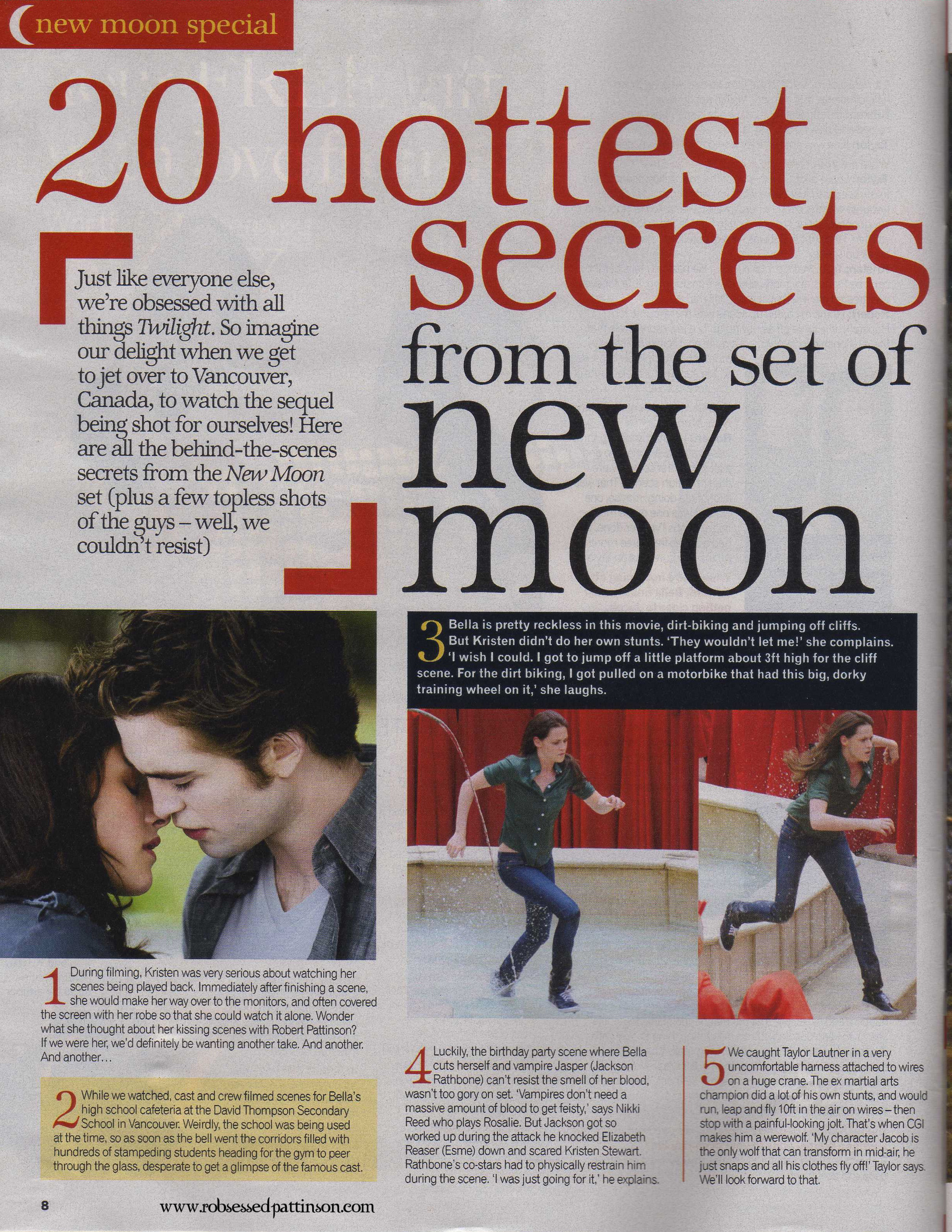 "Sunday Mirror ""New Moon"" Special"